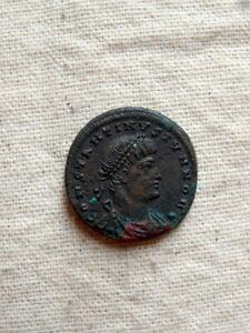 Monnaie romaine, empereur Constantin I Cyzicus.GLORIA EXERCITVS. SMKS