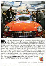MG MGBGT 1966 RETRO POSTER A3 PRINT FROM CLASSIC ADVERT
