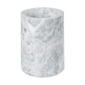 Wine Bottle Cooler Sleeve Marble Solid Stone Champagne Chiller Bucket Grey