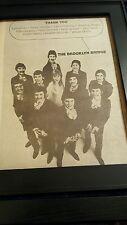 The Brooklyn Bridge Rare Original 1969 Promo Poster Ad Framed!