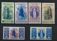 FRANCOBOLLI 1948 REPUBBLICA SANTA CATERINA 6 VALORI INTEGRI MNH D/3854