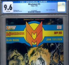 PRIMO:  MIRACLEMAN #15 *RARE COLOR MISPRINT* nm+ 9.6 cgc DEATH of Kid Eclipse