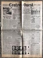 N12 La Une Du Journal Centre Et Ouest 22 Avril 1942