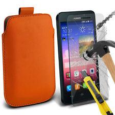 Étuis, housses et coques simples en fibre de carbone pour téléphone mobile et assistant personnel (PDA) Huawei