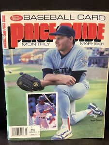 Roger Clemens 1991 SCD Baseball Card Monthly Price Guide - Rare - Boston Red Sox