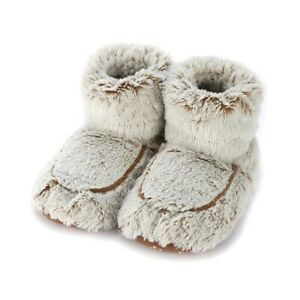 Warmies Microwavable Furry Marshmallow Slippers Boots UK3-7