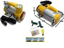 mini compressore 12vl KIT riparazione pneumatici GOMME TUBELESS PRESSIONE GOMMME