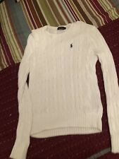Polo by Ralph Lauren Women's Knit Sweater Size M White