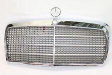 Mercedes 300SE W126 delantero parrilla insignia con emblema/campana ornamento Cromo