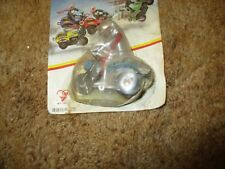 Masked Rider Friction Motorcycle - new on bubble pack card - 1980's?