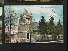 pk33627:Postcard-Church of England,Wingham,Ontario