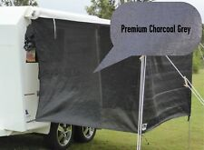 PREMIUM Jayco / Coromal Camper Bagged Bed Flys (both ends) Charcoal Grey