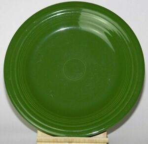 Vintage 1950s Fiestaware Forest Green Dinner Plate 10 3/8 HLC Homer Laughlin