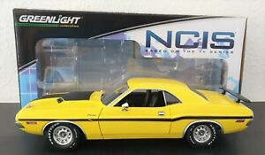"""1:18 DODGE CHALLENGER R/T 383 MAGNUM """"1970 - Gibbs item from NCIS"""" OVP"""