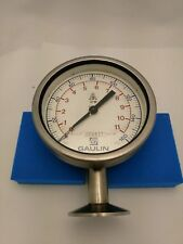 Gaulin Anderson Pressure Gauge 0-160 Psi. With NIST Certification