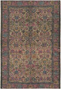 Small Oriental Rug Surya SDI-1002 Shadi, 2' x 3', Khaki & Bright Pink NEW