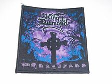 KING DIAMOND THE GRAVEYARD WOVEN PATCH