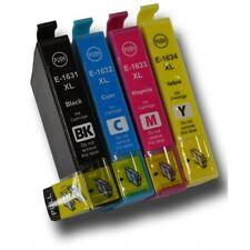 10 Ink Cartridges 16 XL  WF-2510WF WF-2530WF  E1631 E1632 E1633 E1634 Compatible