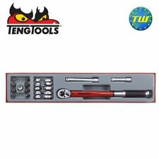 "Teng 22pc 3/8"" Torque & Crow Foot Wrench Set TTX3892 - Tool Control System"