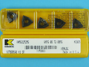 10 Kennametal WNMG 06T308MG - Grade KC935 CNC Lathe Carbide Turning Inserts