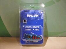 Clam Small Pea Slab Spoon 3/16 ounce #4 hook metal blue NIP