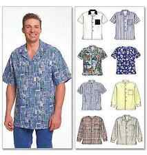 McCalls 8 Great Looks One Easy Pattern Mens Sewing Pattern 2149 Shirts