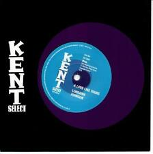 LORRAINE JOHNSON A Love Like Yours / DEEP VELVET  NEW MODERN SOUL 45 (KENT) 70s