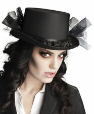 Zylinder Megan Gothic Top Hat Gotik Halloween Hut
