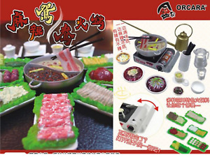 Orcara Re-ment Style Miniature Hot Pot Sichuan Food Doll House FREE SHIPPING