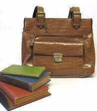 Large Bueno Brown Purse Ladies Oversized Bag Satchel Handbag