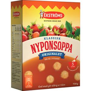 Ekströms Nyponsoppa Rosehip Drink 730 gram Made in Sweden