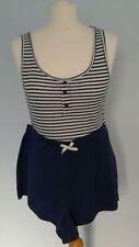 Regular Size Striped Short Pyjama Sets for Women