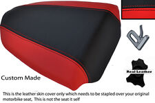 RED & BLACK CUSTOM FITS APRILIA TUONO 1000 07-09 REAR PILLION SEAT COVER