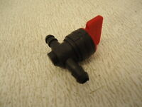 "NEW Fuel Cut Off Shut Off Valve In Line Pet Cock Lawn Mower Push Mower 1/4"" line"