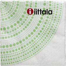 "Napkins Iittala Kastehelmi Green 400 mm X 400 mm 16"" X 16"" Finland"