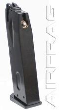KJW Metal 24 Rd Green Gas Airsoft Pistol Magazine for PolymerTaurus PT 92 PT92