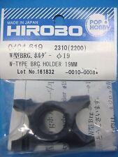 Original HIROBO W-Typ Kugellager Halter 19 mm 0404-619  BEARING HOLDER