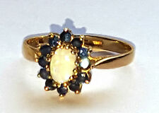 Opal Ring Vintage Fine Jewellery (1980s)