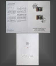 Ministerkarte Klappkarte 100. Geburtstag Nelson Mandela  - Berlin Juli.2018