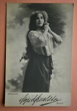 150. Real Photo Postcard of Russian Stage Actress from the early 1900's