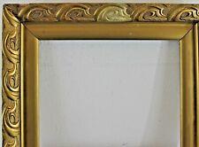 Holzrahmen gold verziert Innenmaß ca. 37x46,5 cm