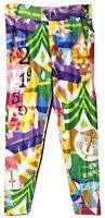 Disney Parks Womens It's a Small World Colorful Leggings Size XL New