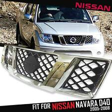 FRONT CHROME GRILLE ABS GRID GRILL FOR NISSAN FRONTIER NAVARA D40 2005-2009
