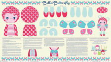 Melley & Me bella butterfly doll  Panel - Quilt Kit 100% Cotton Riley Blake