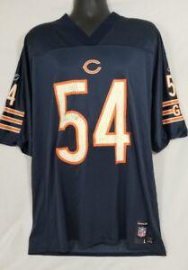 Brian Urlacher Chicago Bears NFL Football Jersey #54 Large