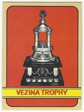 1972-73 TOPPS HOCKEY #173 VEZINA TROPHY - VERY GOOD+