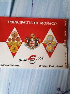 Coffret/set EURO MONACO - BU 2002
