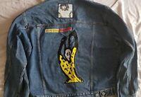 Rolling Stones, Jeans Tour Jacke, VOODOO LOUNGE TOUR 1994/1995 Größe L/XL