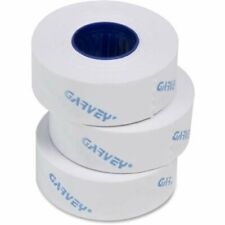 Garvey Gx2212 White Security Cut Labels For Labelers 22 6 22 7 22 8 3 Rolls