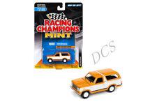 Racing Champions 1980 Ford Bronco 1/64 Modellino Arancione Rc006 24a